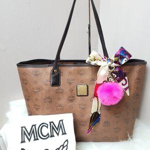 100% Authentic MCM shopper tote